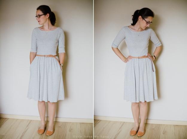 colette moneta dress. little home by hand blog