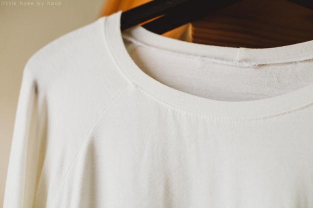 Grainline Linden Sweatshirt | little home by hand blog